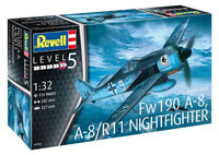 Focke Wulf Fw 190 A-8, A-8/R11 Night Fighter 1/32