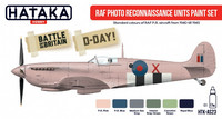 RAF Photo Reconaissance Units Paint Set