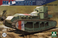 "WWI British Medium Tank ""Whippet"" 1/35"