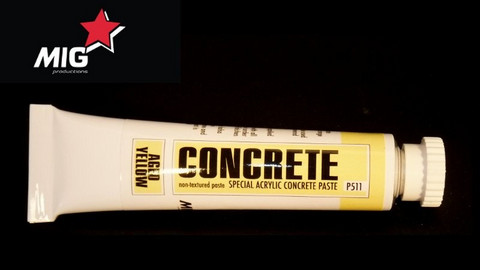 Concrete Aged Yellow