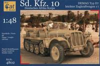 SdKfz 10 Demag Afrika Korps 1/48