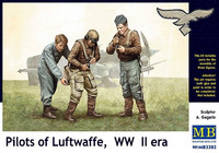 Pilots of Luftwaffe WWII Set.1 1/32