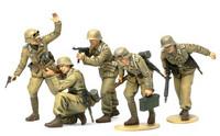 German Afrika Korps Infantry 1/35