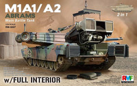 M1A1/A2 Abrams with Full Interior 2 in 1 1/35