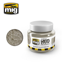 Acrylic Mud Dry Earth Ground 250ml