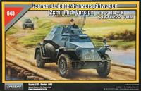 SdKfz 222 German Armoured Car (Ex Tristar) 1/35