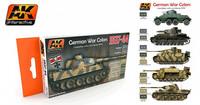German War Colors (pakkauksessa kuusi sävyä)