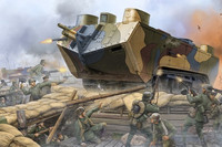 Saint-Chamond French Heavy Tank WWI 1/35