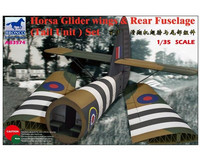 Horsa glider wings & rear fuselage (Tail unit) set 1/35