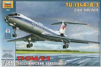 Tupolev Tu-134B Russian Airliner 1/144