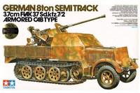 German 3.7 Flak auf SdKfz 7/2 1/35