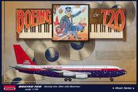 "Boeing 720 ""Starship 1"" Elton John Tour 1974 1/144"