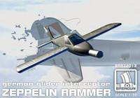 Zeppelin Rammer (pakkauksessa osat kahteen malliin) 1/72