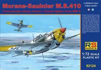 Morane-Sauliner M.S.410 (Suomi tunnukset) 1/72
