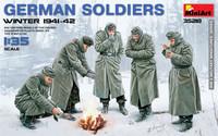German Soldiers Winter 1941-1942 1/35