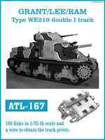 Grant/M3 Lee/RAM TYpe WE210 Double I Track 1/35