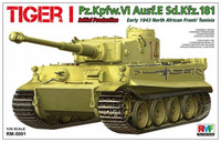 Tiger I Initial Production, Early 1943 North African front/ Tunisia 1/35