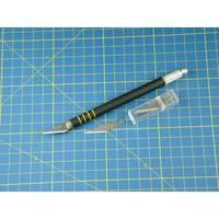 Soft-Grip Hobby/Craft Knife + (5) #11 Blades