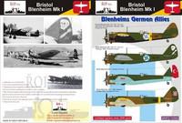 Bristol Blenheim Mk.I, German Allies 1/72