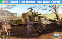 Soviet T-28 Medium Tnak (Cone Turret) 1/35