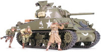 M4A3 Sherman 75mm late prod. with infantry 1/35