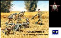 """""""Counter attack"""" Soviet Infantry, Summer 1941 1/35"""