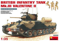 British Infantry Tank Mk.III VALENTINE II 1/35