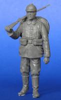 German soldier, walking WWI 1/35