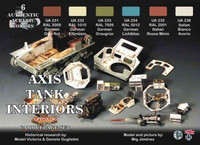 German and Italian Tank Interior Colors