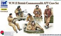 British/Commonwealth AFV Crew Set 1/35