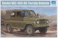 UAZ 469 Soviet All Terrain Vehicle 1/35