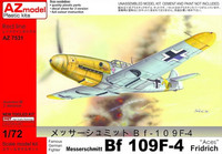 "Messerschmitt Bf 109 F-4 ""Aces"" (New mould) 1/72"