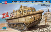 LAND-WASSER-SCHLEPPER (LWS) AMPHIBIOUS TRACTOR EARLY PRODUCTION 1/35