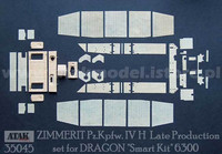 PzKpfw IV Ausf.H Late Version 1 (Dragon) 1/35