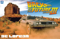 Back to the Future DeLorean from Episode III 1/24