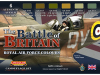 The Battle of Britain, Royal Air Force Colors