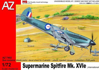 "Supermarine Spitfire Mk.IXVIe ""International"" HQT 1/72"