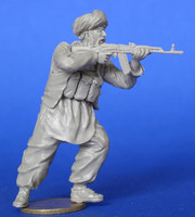 The mujaheddin with AK-74 Afghanistan 1/35