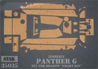 Panther G #1 Zimmerit (Dragon Smart Kit) 1/35