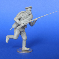 Russian soldier, advancing #4 WWI 1/35