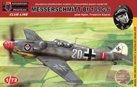 """Messerschmitt Bf-109G-6 """"Pilot Eberle"""" 1/72"""