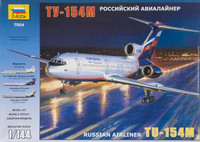 Tupolev Tu-154M Russian Airliner 1/144