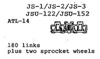 JS-1 / JS-2 / JS-3 / JSU-122 / JSU-152 tracks & sprockets 1/35