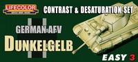 German AFV Dunkelgelb Contrast & Desaturation set