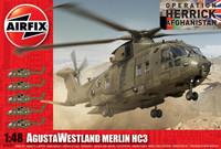 """Augusta Westland Merlin HC 3 """"Operation Herrick Afganistan"""" 1/48"""