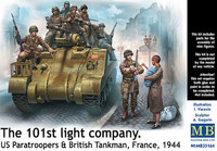 The 101st Light Company (10 Figuuria) 1/35