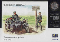 German motorcyclists, 1940-43 1/35