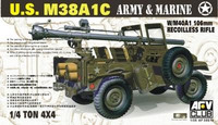 M38A1C 1/4 Tons 106mm rec Rifle