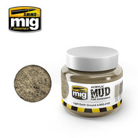 Acrylic Mud Light Earth Ground 250ml