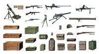 Accessories and Guns 1/35